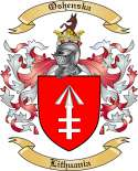 Oshenska Family Coat of Arms from Lithuania