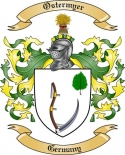 Ostermyer Family Crest from Germany