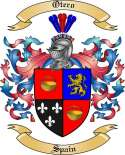 Otero Family Crest from Spain