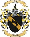 Ott Family Coat of Arms from Germany