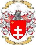 Ouderkerk Family Coat of Arms from Germany