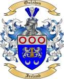 Oulahen Family Coat of Arms from Ireland