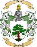 Ould Family Coat of Arms from England