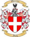 Overrico Family Coat of Arms from Italy