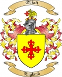 Oviatt Family Coat of Arms from England