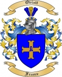 Oviatt Family Coat of Arms from France