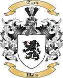 Owen Family Coat of Arms from Wales2