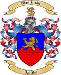 Ozolinski Family Coat of Arms from Lativa