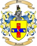 Pace Family Coat of Arms from Ireland