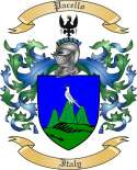 Pacello Family Crest from Italy