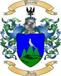 Pacetti Family Crest from Italy