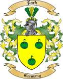 Pach Family Crest from Germany