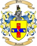 Pacie Family Crest from Ireland