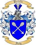 Paciello Family Crest from Italy