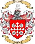 Packard Family Coat of Arms from England