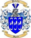Padella Family Crest from Spain