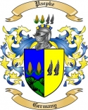 Paepke Family Coat of Arms from Germany