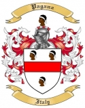Pagana Family Crest from Italy