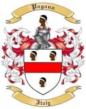 Pagana Family Coat of Arms from Italy