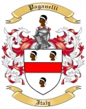 Paganelli Family Crest from Italy