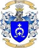 Paguski Family Crest from Austria