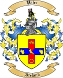 Paice Family Coat of Arms from Ireland