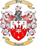 Paige Family Crest from England2