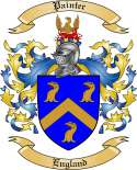 Painter Family Crest from England