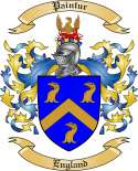 Paintur Family Crest from England
