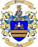 Palaoni Family Coat of Arms from Italy
