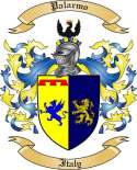 Palarmo Family Coat of Arms from Itlay