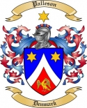 Palleson Family Coat of Arms from Denmark