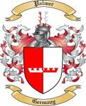 Palmer Family Crest from Germany2