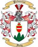 Palmerini Family Crest from Italy