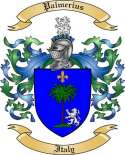 Palmerius Family Crest from Italy