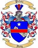 Palota Family Crest from Italy2
