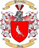 Palumbo Family Crest from Italy