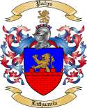 Palys Family Crest from Lithuania