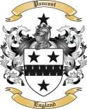 Pancost Family Crest from England