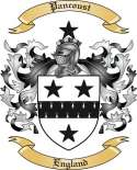 Pancoust Family Crest from England