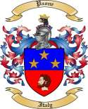 Paone Family Coat of Arms from Italy