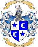 Papke Family Crest from Germany2