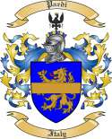 Pardi Family Crest from Italy
