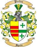 Pardos Family Coat of Arms from Spain