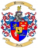 Parente Family Crest from Italy