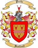 Parke Family Crest from Scotland