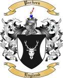 Parkers Family Crest from England2