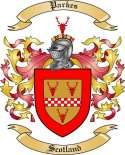 Parkes Family Crest from Scotland
