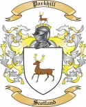 Parkhill Family Coat of Arms from Scotland