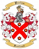 Parlan Family Crest from Scotland1